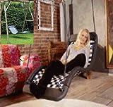 Relaxschaukel Sessel-Liegeschaukel DREAMLINER STANDARD (170x66 cm) (silber)