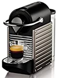 Krups Nespresso Pixie XN3005 Kaffeekapselmaschine (19 bar, Thermoblock-Heizsystem) electric titan