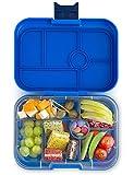 Yumbox Original M Lunchbox - (Neptune Blue, 6 Fächer) - Brotdose mit Unterteilung | Bentobox mit Trennwand Einsatz für Schule und Kindergarten Kinder, Picknick, Arbeit sowie Uni