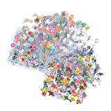 Bluelans Nagelsticker- Wassertransfer Nail Art - 10 Blatt 3D Nail Art Sticker Aufkleber Nail Tips Dekorationen