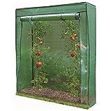 Green Blade GH290 Gewächshaus für Tomaten, Garten, Terrasse, Grün, Aufbewahrungsschuppen für Lebensmittel, Wachstum, Größe 100 x 50 x 150 cm