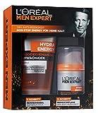 L'Oreal Men Expert Geschenkset Hydra Energy-Pflegeset für Männer, 1er Pack