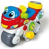 Unbekannt Baby Spielzeug Sprechendes singendes Motorrad mit realgetreuen Motorgeräuschen Licht • Sprechendes Motorik Kinder Musik Lernspiel