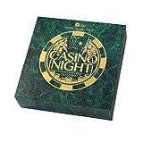 Talking Tables Host Ihre eigenen Casino Nacht mit 3Casino Spiele für Party, Feiern und Geschenke, Roulette, Blackjack, Karten, Poker