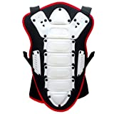 HEEZY Kinder Rückenprotektor Ski Snowboard Rücken Protektor Motocross Quad BMX Reiten