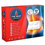 The HEAT company Wärme-Gürtel, Gurt mit 4 großen Wärme-Zellen, 12 Stunden lang wohltuende Wärme, sofort einsatzbereit, einfache Anwendung, für alle Größen S-XL, 3er PACK