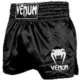 Venum Classic Thaibox Shorts, Schwarz/White, L