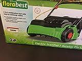 FLORABEST Elektro-Vertikutierer/-Rasenlüfter FLV 1200 B1 englische Version