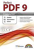 Perfect PDF 9 Converter - PDFs erstellen, konvertieren, schützen, Kommentare hinzufügen, Digitale Signatur einfügen | 100% Kompatibel mit Adobe Acrobat