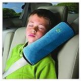 Tefamore Autositze Gurtpolster Schlafkissen Nackenstütze , Baby Kinder Sicherheitsgurt Auto Sitz Gürtel Kissen Schulter Schutz (Blau)
