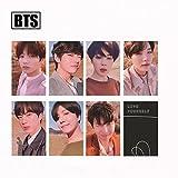 Yovvin BTS 7 Stück BTS Mini Fotokarten Kpop Bangtan Jungen Love Yourself: Tear Lomo Karten | Jungkook, Jimin, V, Suga, Jin, J-Hope, Rap Monster | Sammlung und Beste Geschenk für The ARMY (Style 04)