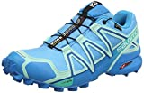 Salomon Damen Speedcross 4 GTX Trailrunning-Schuhe, Synthetik/Textil, aquamarinblau (aquarius/beach glass/hawaiian surf), Gr. 40 2/3
