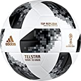 adidas World Cup Fußball, White/Black/Silvmt, 4