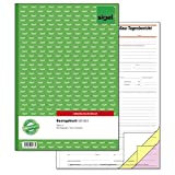 Sigel SD063 Bautagebuch A4, 3x40 Blatt, selbstdurchschreibend