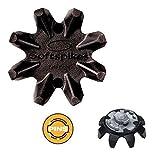 20x Black Widow Soft Spikes für Adidas Golf Schuhe Pins Gewinde + Deluxe Schlüssel