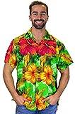 Funky Hawaiihemd grün, Größe XXL,