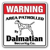 Diuangfoong Dalmatiner Sicherheitsschild für Haustiere, Geschenk für Hunde/Tierarzt