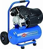 AIRPRESS Druckluft Kolben Kompressor | Sackkarre 24L | 8 bar | fahrbar | HL 425-25 | Profi