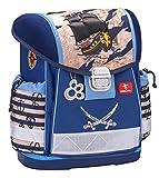 Ergonomischer Schulranzen für die Grundschule - 1-3 Klasse / Jungen / Pirat Blau von Belmil