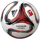 adidas Kinder Fußball Trainingsbälle DFL Junior 350, White/Solred/Vivmin, 5, ADIF93562_000