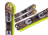 Snowblades Mini Woody 70cm Neu + Bindung Neu
