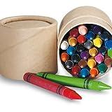 Sparset mit 10 Sets Wachsmalkreide mit je 30 Stiften in Kartonbox Party Mitgebsel EN71 zertifiziert von noTrash2003
