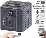7links Spy Cam: HD-Micro-IP-Überwachungskamera mit WLAN, Nachtsicht & App-Zugriff (Mini HD Überwachungskameras)