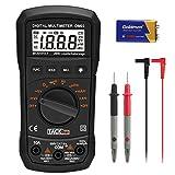 Digital Multimeter, Tacklife DM03 Klassischer Spannungsprüfer/Auto Range/Maximalwert Halten/ Messung von Spannung Strom Widerstand Messgerät mit Hintergrundbeleuchtung