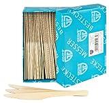 GRÄWE Einwegbesteck - Messer Holz 100 Stück