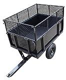 TrutzHolm Anhänger Rasentraktor 300 kg kippbar Aufsitzmäher Hänger Traktor Kippanhänger ATV Quad