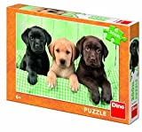 Dino Toys 472167 Puzzle Hund Brothers 300 XL Spielzeug