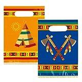 Boland NEU Geschenktüte Indianer Annawan, 6 Stk. 23x16cm