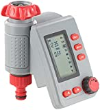 Royal Gardineer Bewässerungsuhr: Digitaler Bewässerungscomputer BWC-100 mit Magnet-Ventil (Bewässerungsautomat)