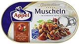 Appel Muscheln in Tomaten-Sauce, MSC zertifiziert, 8er Pack (8 x 100 g)