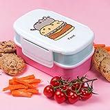 Thumbs Up Pusheen Lunchbox-Set, pink, 13x 20x 9,5cm