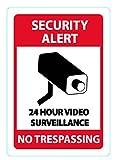 24Stunde Video Surveillance sich, und Sticker von Wasserstein