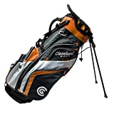 Cleveland CG Cart 2019 Saturday - Golf Stand Bag CHR/ORG/WHT