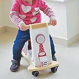Indigo Jamm, Jamm Scoot: Sitzroller aus Holz in klassischem Retrodesign für Kinder ab 12 Monaten - Herzen