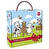 Emsa 509096 6-teiliges Kindergeschirr Geschenk-Set, Geschenkkartonage, Farmmotiv, Bunt, Farm Family
