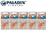 Paladin Silikon Stopper & Perlen Medium - 270 Schnurstopper für Sbirolinos & Angelposen, Angelstopper, Gummi Stopper, Stopper Perlen