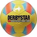 Derbystar Futsal Pro Light, 4, gelb blau, 1086400567