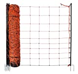 Koll Living Fence Schafnetz/Elektronetz Classic mit 90cm Höhe und 2 Spitzen je Pfahl, 50m Gesamtlänge, der Netz Klassiker zum Top Preis
