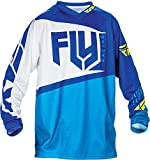 Fly Racing Kids Jersey F-16 Blau Gr. M