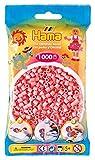 Hama 207-06 - Bügelperlen im Beutel, ca. 1000 Stück, hellrosa