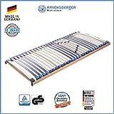 Ravensberger Matratzen MEDI XXL Lattenrost   5-Zonen-Buche-Schwergewichts-Lattenrahmen   30 Leisten  starr   MADE IN GERMANY - 10 JAHRE GARANTIE   TÜV/GS 100x200 cm