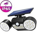YF-WJ LED Garten Solarlampe Solarleuchten, Outdoor Wandleuchte, Helle Garten-Licht, Beleuchtungsmodi, Sicherheitsbeleuchtung,Großes Außenlicht für Rasen, Wege, Auffahrt, Terrasse