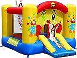 Happy Hop 9201 Bj9201-Clown-Rutsche und Hüpfburg, bunt