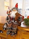 Sitzender Weihnachtsmann