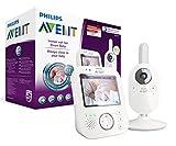 Philips Avent SCD630/26 Video-Babyphone, 3,5 Zoll Farbdisplay