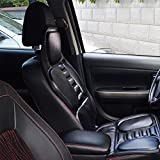 Beheizter Massage-Sitz für das Auto, Wärmekissen für den Winter, Schwarz